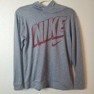 NIKE DRI-FIT Boy's Retro Spell Out Pullover Hoodie